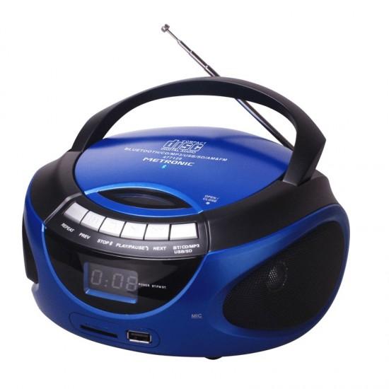 RÁDIO CD MP3 USB BT METRONIC