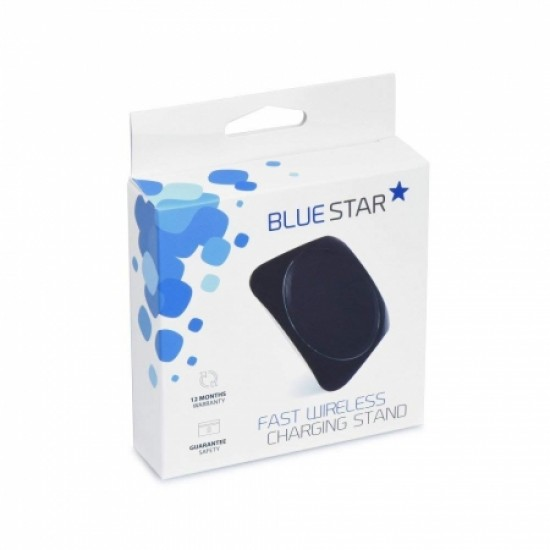 CARREGADOR SEM FIOS BLUE STAR 10W - PRETO