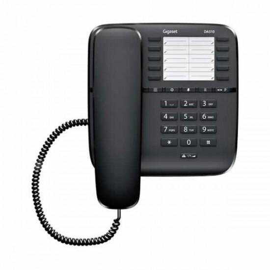 TELEFONE COM FIOS GIGASET EUROSET DA510 - PRETO