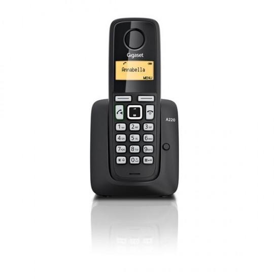 TELEFONE SEM FIOS GIGASET A220 - PRETO