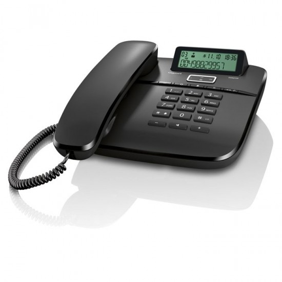 TELEFONE COM FIOS GIGASET EUROSET DA610 - PRETO