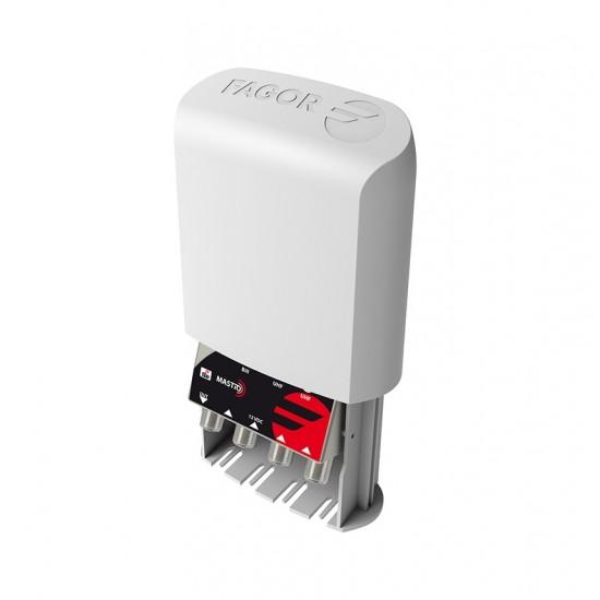 AMPLI. MASTRO 1 ENTRADA UHF, 35DB - AML 910DC D2 5G