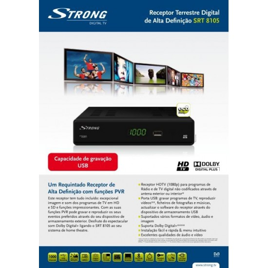 Strong SRT 8105 Receptor digital